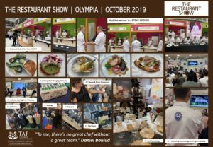 The Restaurant Show 2019, according to TAF Catering Consultancy